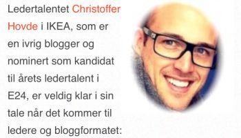 Jeg blogger ikke, jeg kommuniserer!
