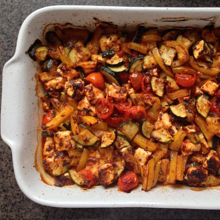 Rezept Mediteranes Ofen-Gemüse von KleineKüchenfee22 - Rezept der Kategorie Hauptgerichte mit Gemüse