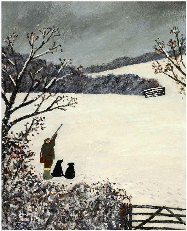 gary bunt(1957- ), 8 black paws. oil on canvas, 40 x 32 ins. portland gallery, london, uk http://www.portlandgallery.com/artist/Gary_Bunt/item/archive/29929/(24)_8_Black_Paws