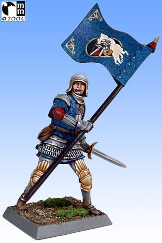 Mindstalkers: soldiers generic for factions of Milan and Venice.  Standard Bearer 03