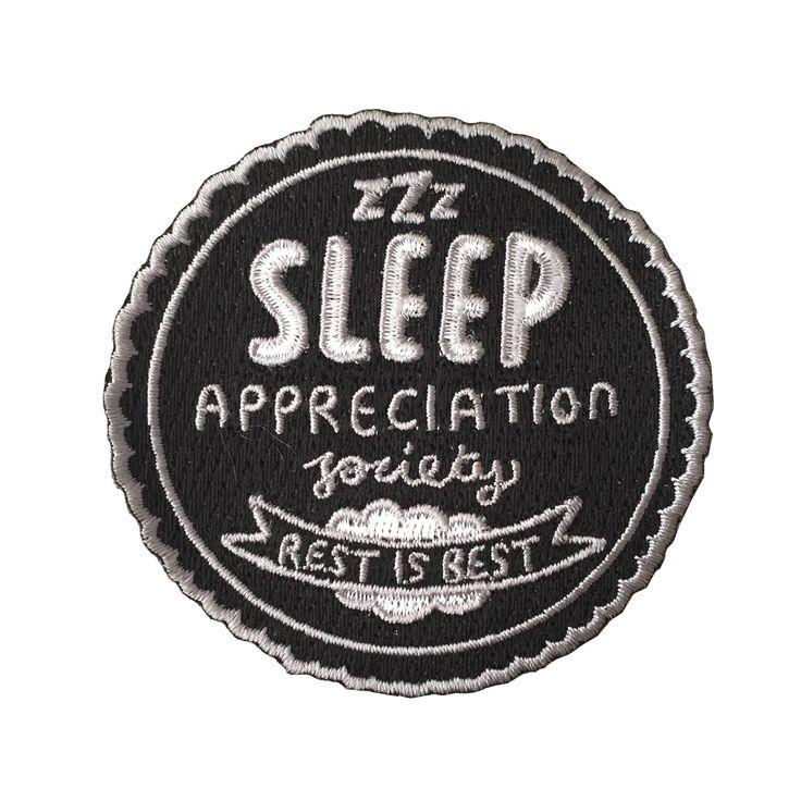 Sleep appreciation society patch