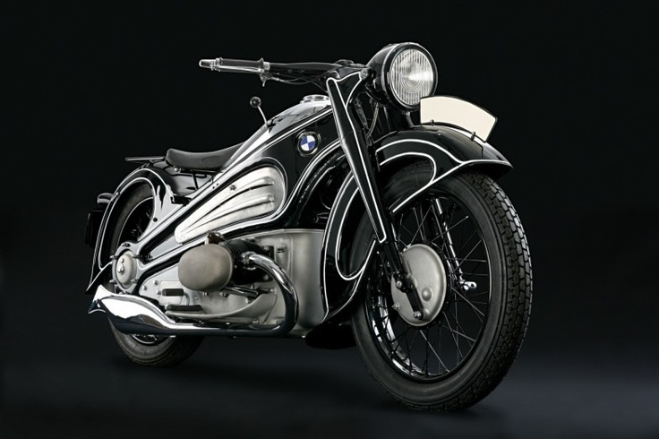 1934 BMW R7 i'm not a motorcycle person, but i would totally become one for this.
