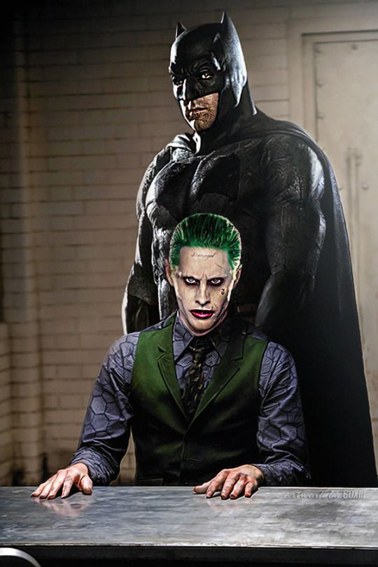 Batman and Joker coloring page Free