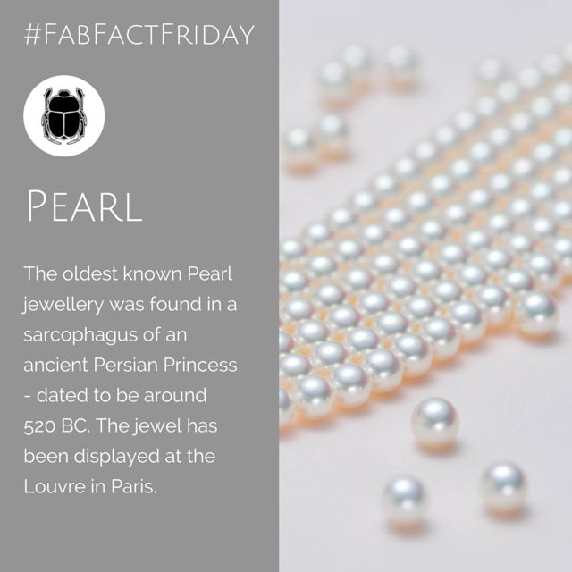 The Queen of Jewels - the Pearl has since ancient times been prized - not surprising that we find ancient Persian princesses loved them too!