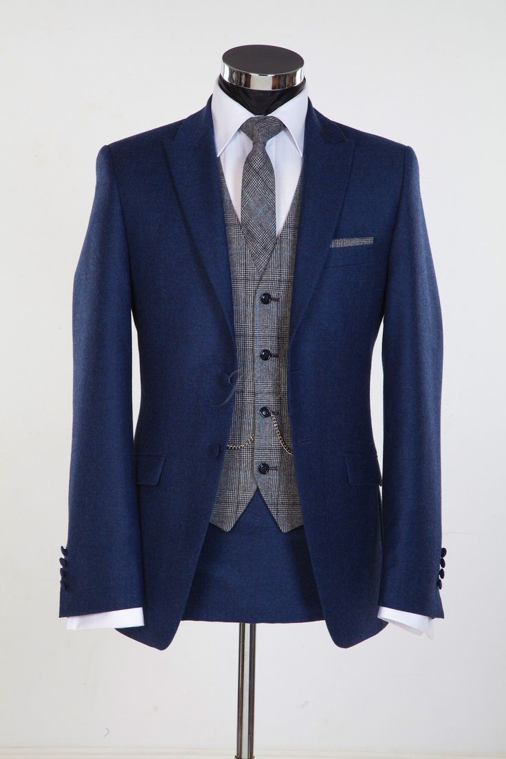 Jack Bunneys Gentlemens Outfitters - Wedding Trends For Grooms For 2015 From Gentlemens Outfitters Jack Bunneys Including Flannel, Patterned Waistcoats And Coloured Suits