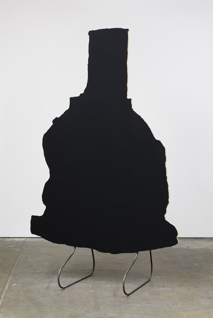 Peter Coffin - Sculpture Silhouette Prop (P. Voulkos 'Jupiter' 1994)