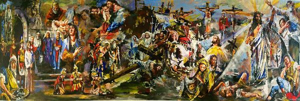Steve Penley | Palette to Painting by Steve Penley...Amazing Artist!