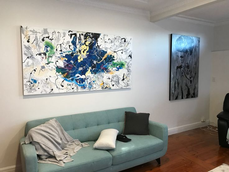 101 best Interior Design Artworks Abstract Art Ideas images on