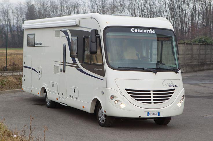 Motorhome usato Concorde Credo 813L. € 84.800,00 http://www.transwe.it/it/usati/motorhome-concorde-credo-passion-813l