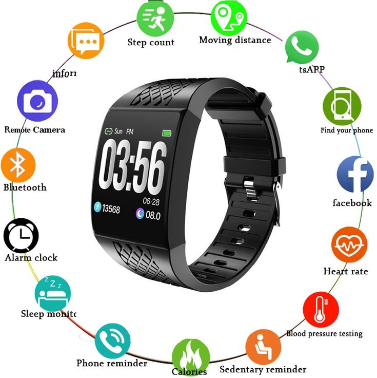 e76811a243f1434d12500327e3ee7ebb Smart Watch Large Screen Heart Rate Bracelet