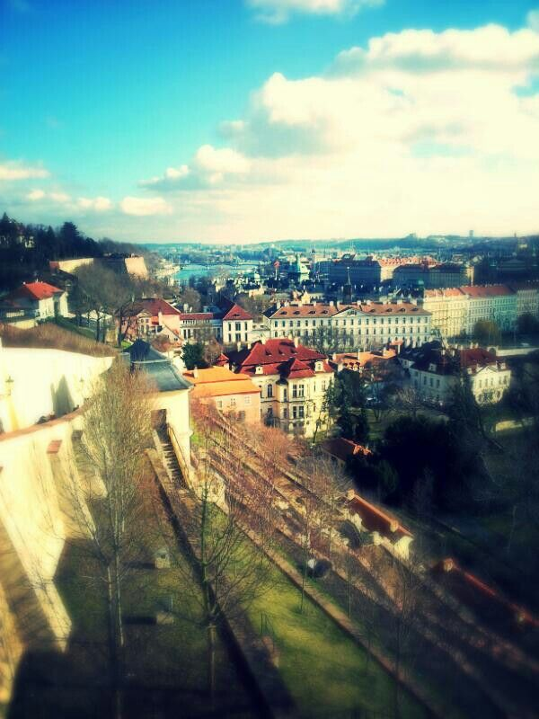 Praha, from the view of the Prague castle