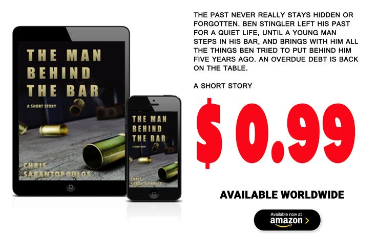 #Suspense #short #story about retired #assassin and his part coming to haunt him after many years, by #Chris #Sarantopoulos. Available #worldwide for $ 0.99