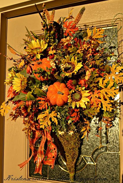kristens creations fall around the house - Halloween And Fall Decorations
