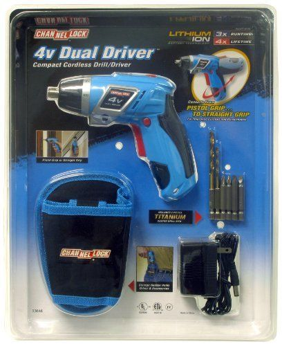 Special Offers - Channel Lock Dual Driver XL Compact Cordless Drill For Sale - In stock & Free Shipping. You can save more money! Check It (October 17 2016 at 10:10AM) >> http://drillpressusa.net/channel-lock-dual-driver-xl-compact-cordless-drill-for-sale/