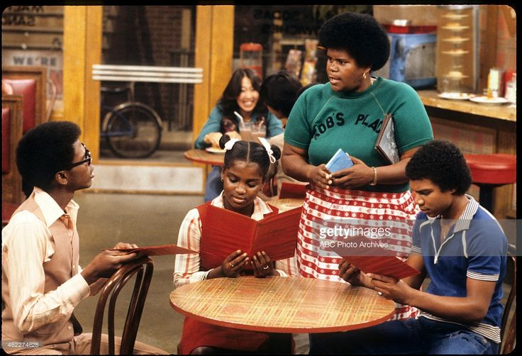 """What's Happening"", Ernest Thomas, Danielle Spencer, Shirley Hemphill and Haywood Nelson, November 23, 1978."