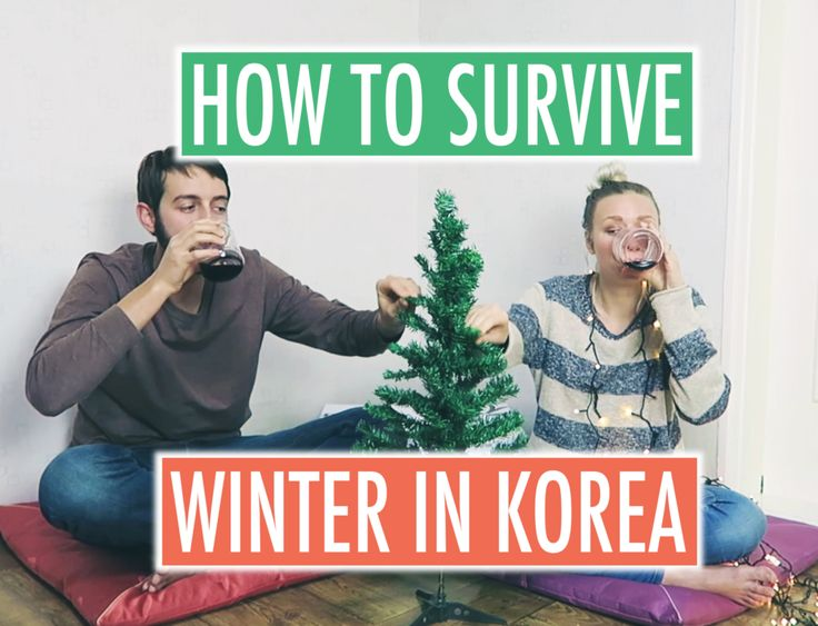 How to Survive Winter in Korea