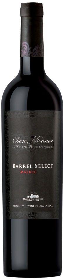 """Don Nicanor Barrel Select"" Malbec 2012  - Bodega Nieto Senetiner, Luján de Cuyo, Mendoza-------------------------- Terroir: Luján de Cuyo---------------Crianza: 18 meses en barricas de roble francés"