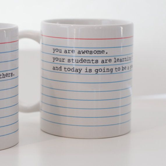 Best ever teacher mug?!