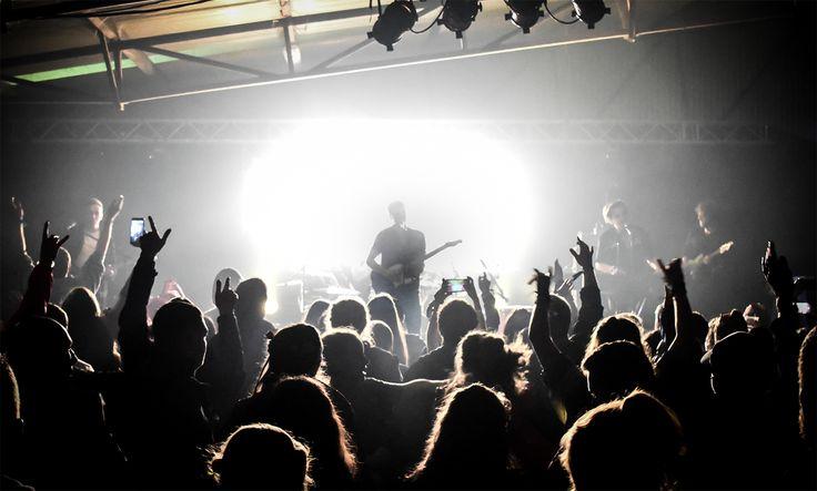 Irish band Wild Youth live at Indiependence