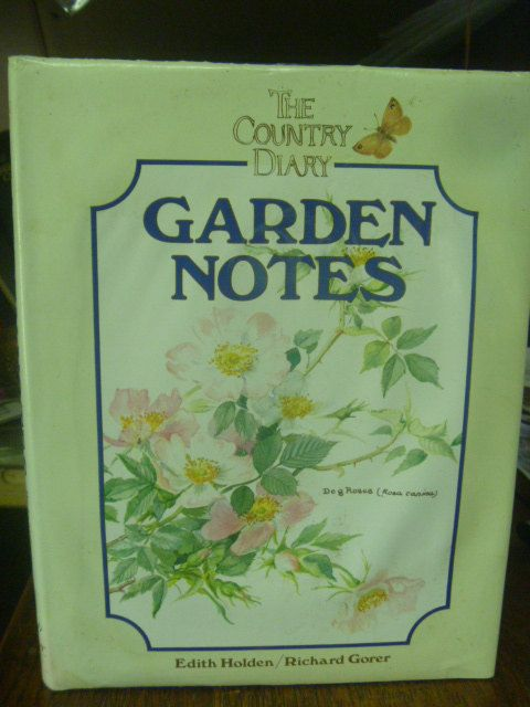 THE COUNTRY DIARY Garden Notes   Hardback by BookShopBiblioteque, €14.00