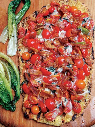 Barbeque Pizza - Summer Party Ideas
