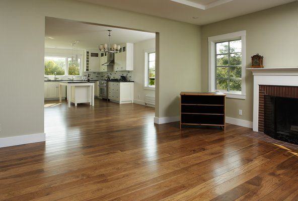 Piedmont stained hickory yelp new house ideas for Tulip hardwood floors