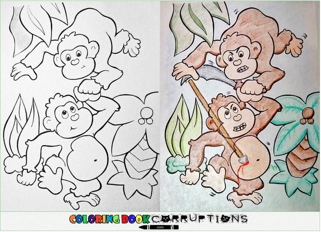 122 Best Corrupted Colouring Books Images On Pinterest