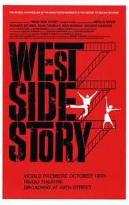 West Side Story Broadway Poster