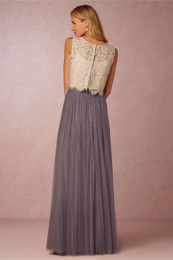 Cleo Top & Louise Skirt in Bridesmaids Maid of Honor Dresses at BHLDN