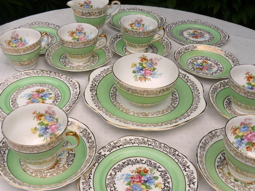 30u0027s - 40u0027s english bone china & 85 best english fine bone china...! images on Pinterest | Bone china ...