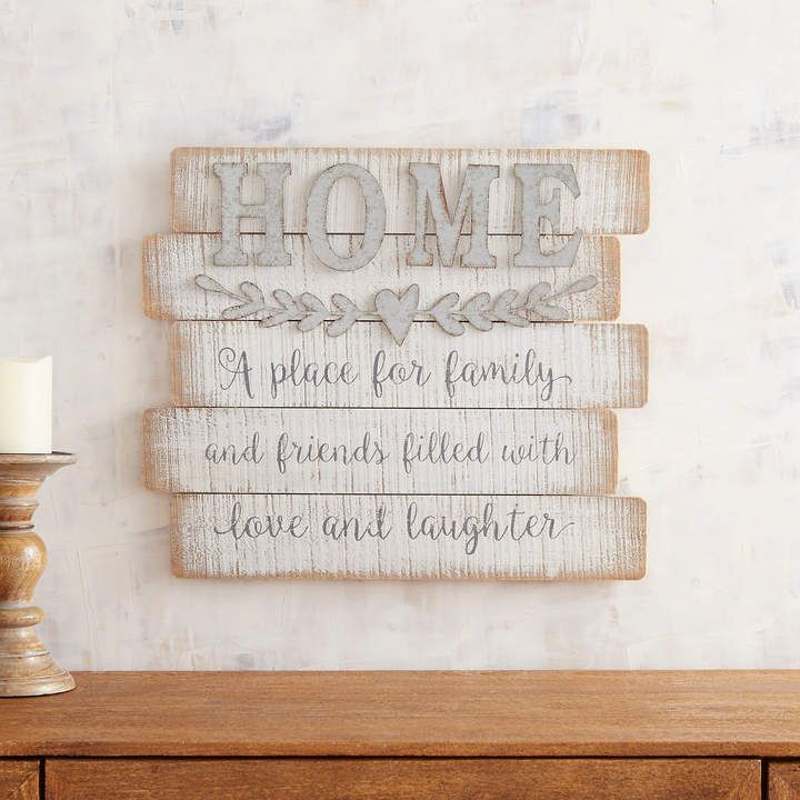 Whitewashed Home Wall Decor Home Wall Decor Letter Wall Decor