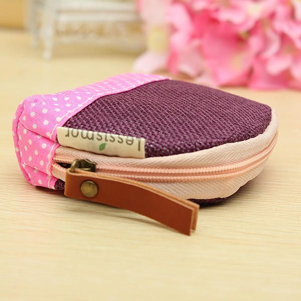Women Animal Coin Small Bag Card Purse Key Cash Wallet Holder Pouch - US$3.12 sold out