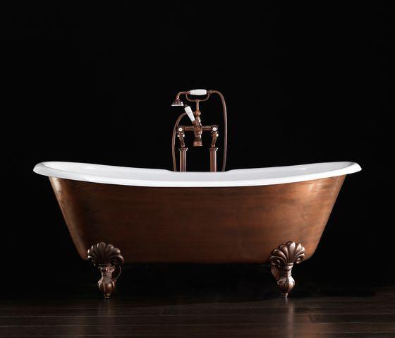 Bañera de hierro fundido.-