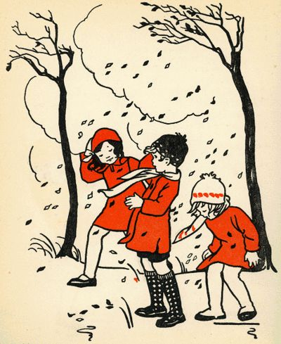 Rie Cramer. What a beautiful illustration to be hung low in a children's room or classroom.