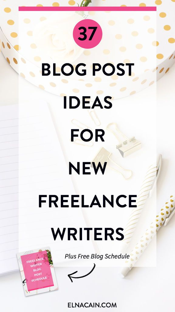 Blog post ideas for freelance writers + brainstorming tips when you write for multiple clients.