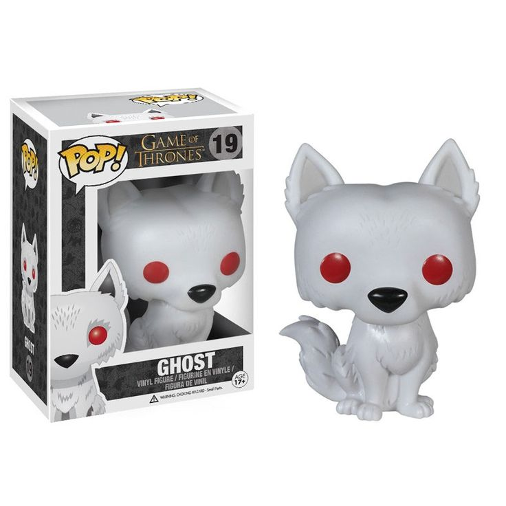 Funko POP! Game of Thrones - GHOST. dont know who this is but he is adorable