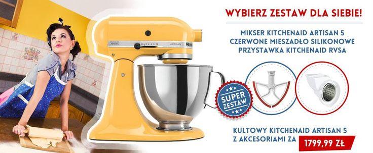 Wybierz zestaw dla siebie . Wszystko czego potrzebujesz w kuchni jest w naszej ofercie . http://madeinusa.com.pl/ #madeinusacompl #madeinus #kitchenaid #rvsa #mieszadlo #mikser #robotkuchenny