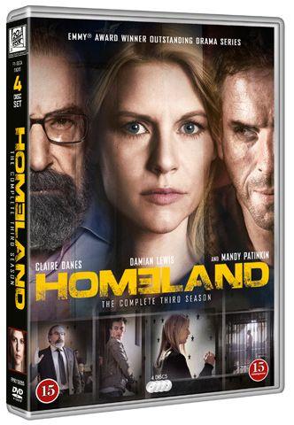 Homeland sesong 3, DVD, film fra Dvdhuset. Om denne nettbutikken: http://nettbutikknytt.no/dvdhuset-no/