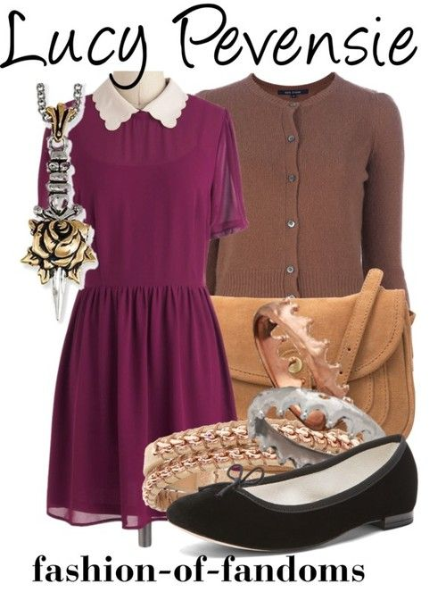 Fandom Fashion lucy pevensie inspired