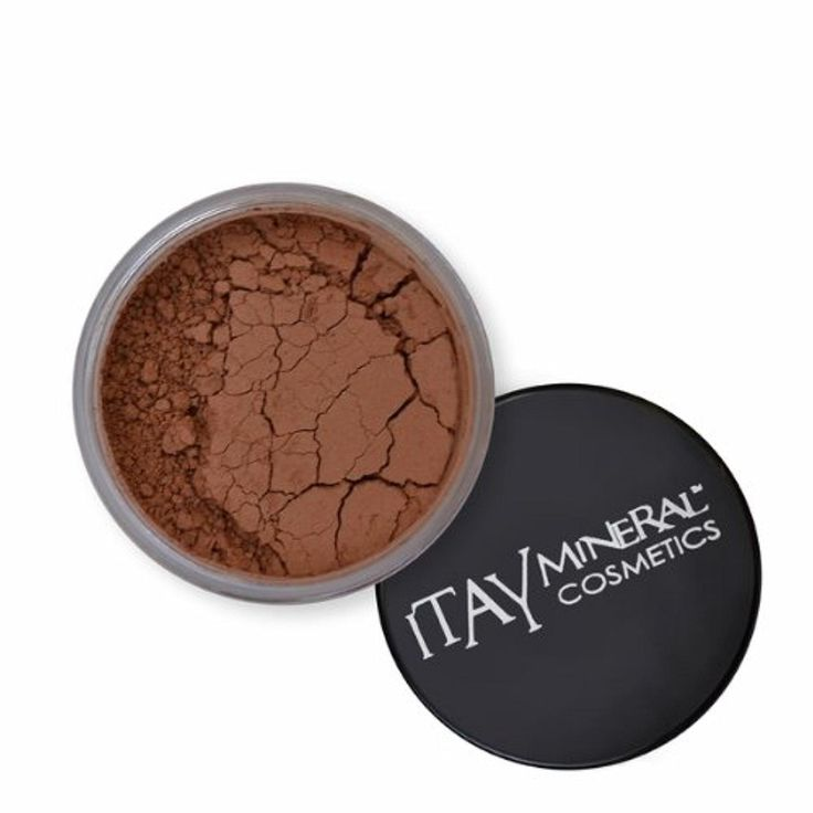 (Bundle of 4 Items)Itay Mineral Cosmetics Full Size Flawless Foundation MF7 Italian Biscotti+Blush+Foundation Brush+Airplane Travel Cosmetic Bag (MB4 Caramel Latte) - Brought to you by Avarsha.com