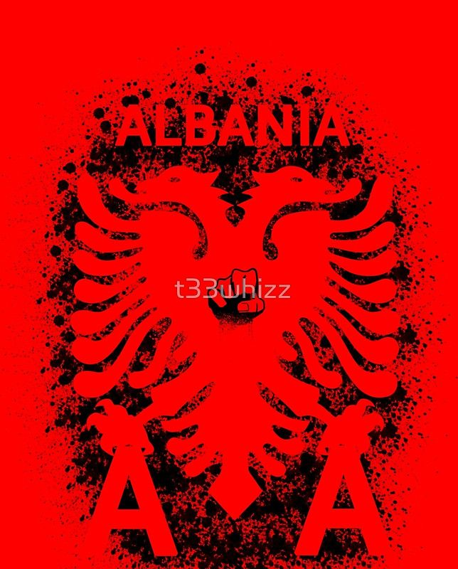 Albania #euro2016 #fans #specially #designed #products #supportyourteam #supportyourcolours #graphic #tees #albania #amazing #design #football