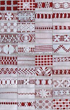 La puntada del bordado, vainicas mano, la costura a mano diseños ...
