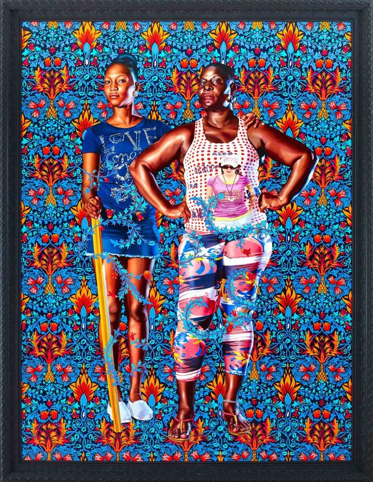 Kehinde Wiley - 'Portrait of John and George Soane'