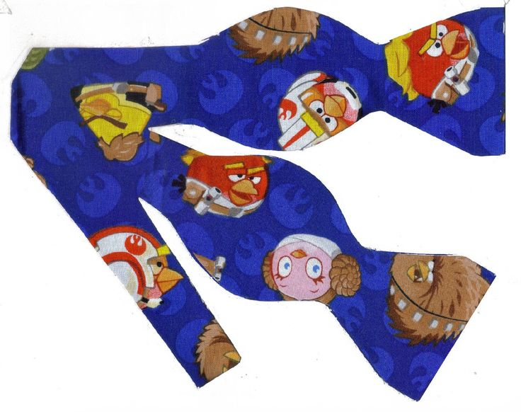 Excited to share the latest addition to my #etsy shop: Angry Birds Bow Tie | Self-tie & Pre-tied | Star Wars Angry Birds | Video Game | Gamer Bow tie | Mens Bow tie | Boys Bow tie | Dog Bow tie http://etsy.me/2FaikmG #accessories #blue #birthday #christmas #monicamaria