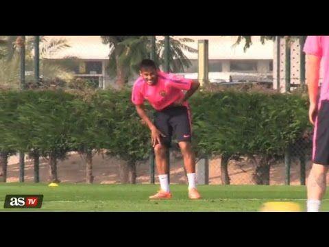 """Lionel Messi a """"castré Neymar"""" (vidéo) - http://www.actusports.fr/122858/lionel-messi-castre-neymar-video/"""