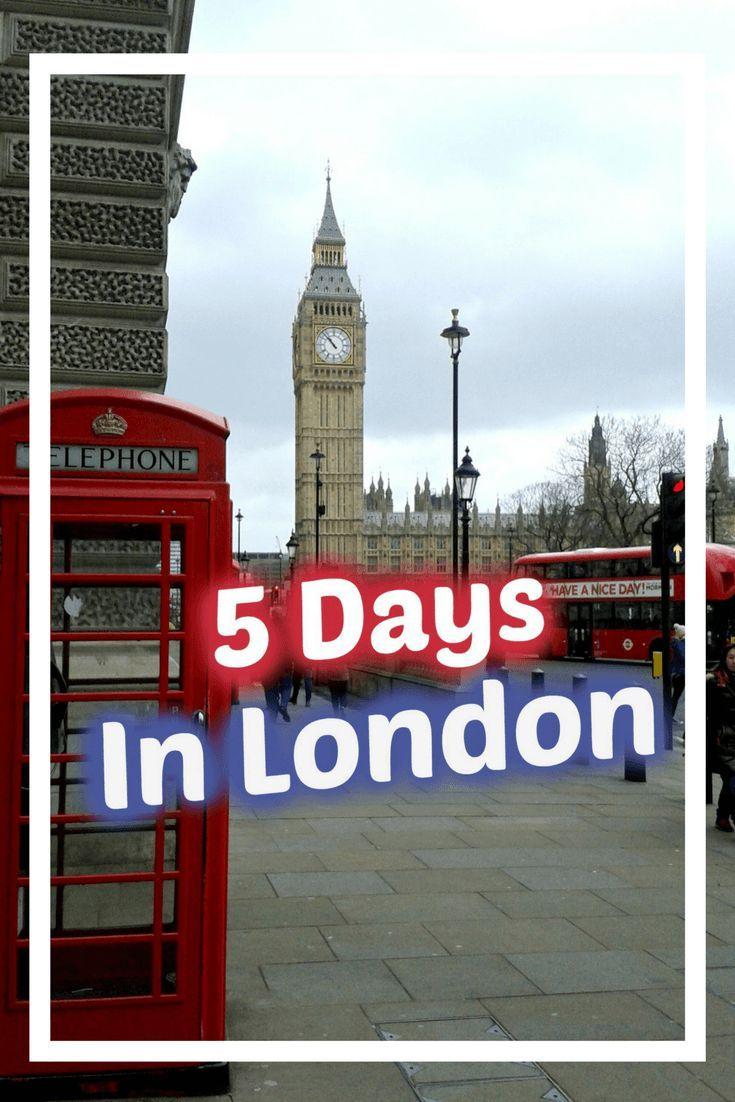 5 Days In London