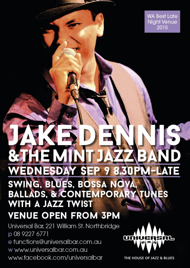 Jake Dennis and The Mint Jazz Band