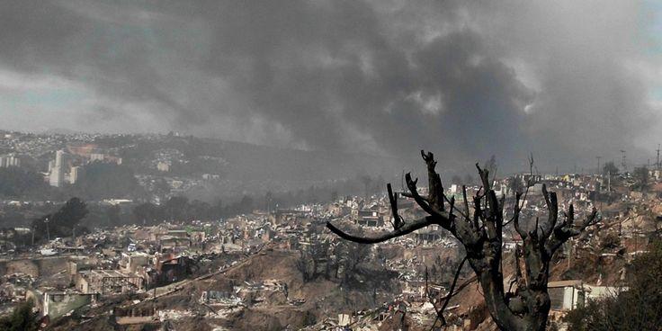 Noticias de los testigos de Jehová | Últimas noticias. Desvastador incendio en Valparaiso. Chile