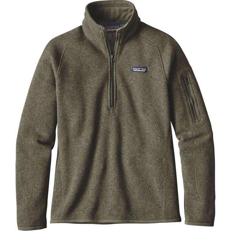 Patagonia - Better Sweater 1/4-Zip Fleece Jacket - Women's - Industrial Green