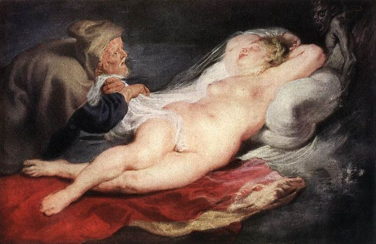 The Hermit and the Sleeping Angelica